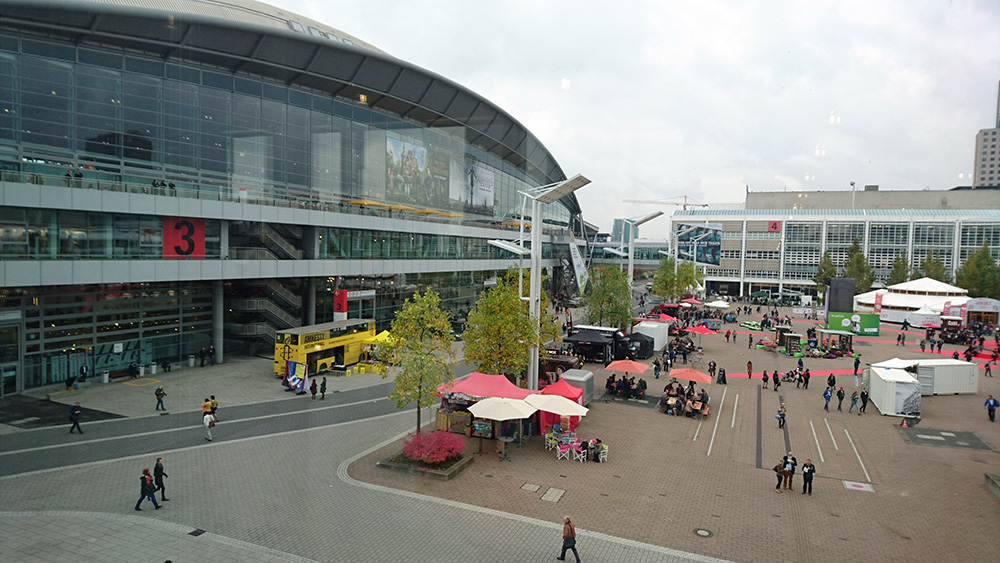 Frankfurter Buchmesse 2016 ingang